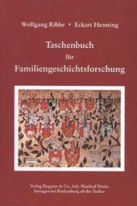Taschenbuch für Familiengeschichte