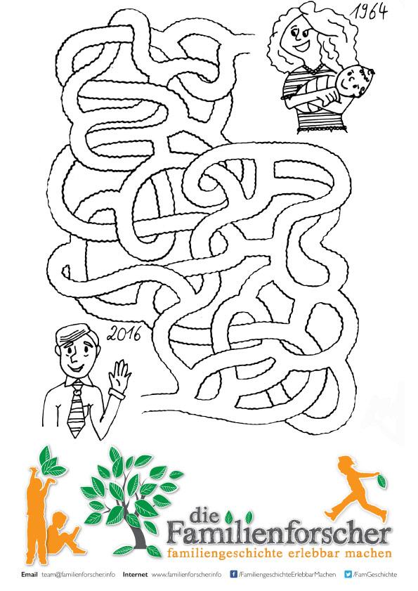 Arbeitsblatt Vorschule u00bb Labyrinth Vorlage - Kostenlose ...