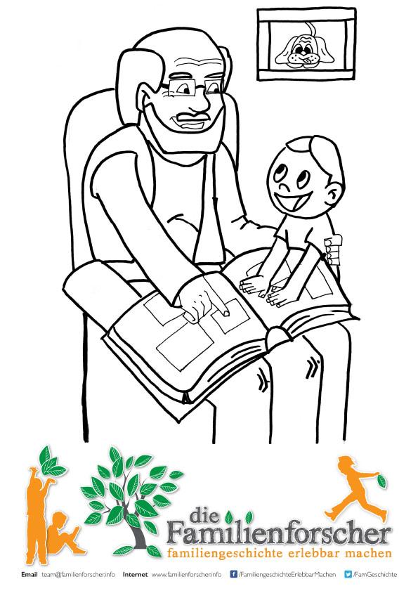 Vorlagen (die Familienforscher) — die Familienforscher, Kinder und ...