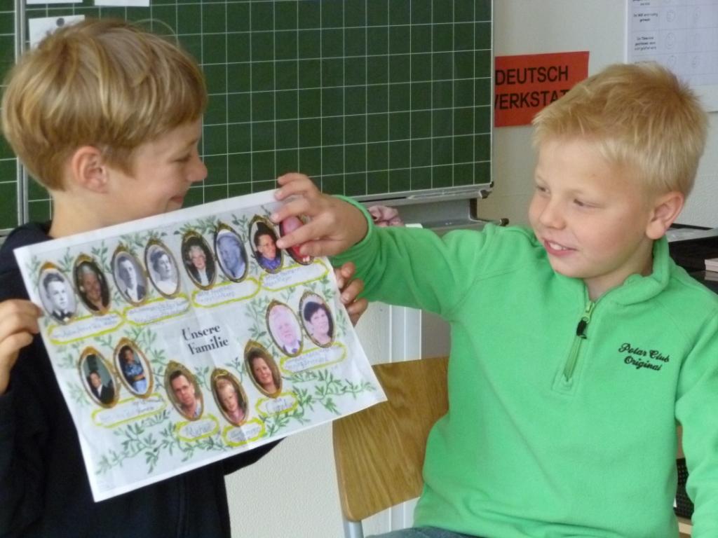 Grundschule die familienforscher kinder und jugendliche f r familienforschung begeistern - Stammbaum basteln mit kindern ...