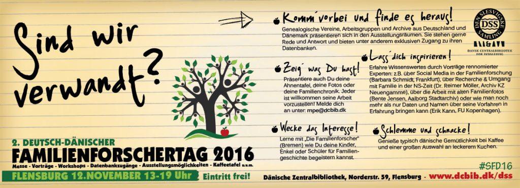 2. Deutsch-Dänischer Familienforschertag 2016